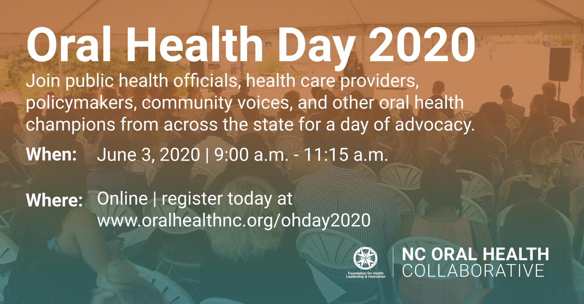 Recap: Oral Health Day 2020