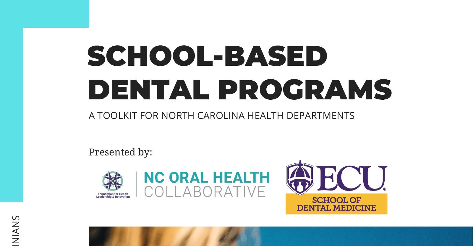 School-Based Dental Programs Toolkit