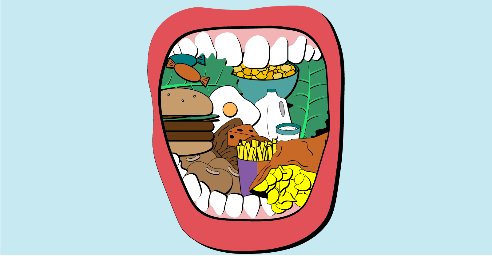 Racism, Food, and Your Mouth: Parallels Between Food and Oral Health Equity