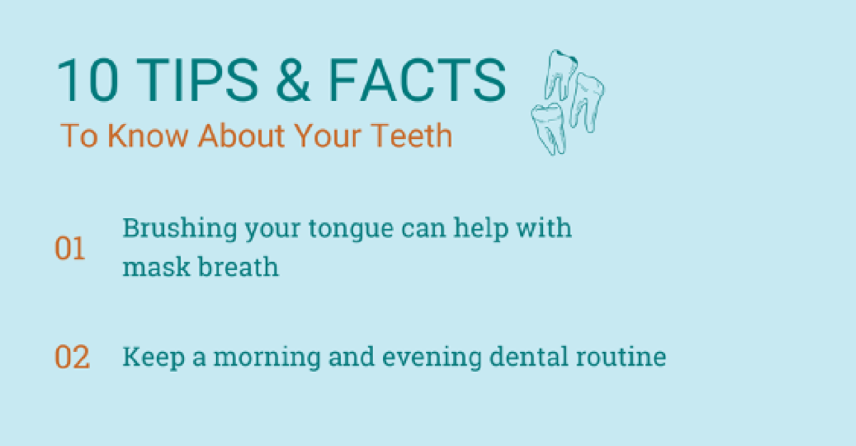 Graphic - 10 tips & facts for your teeth