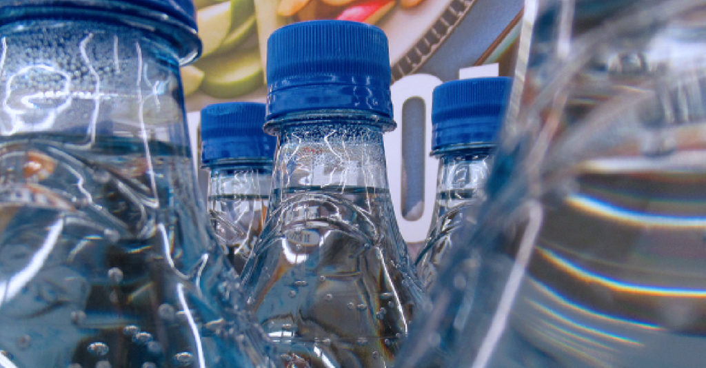 Image of bottles of water