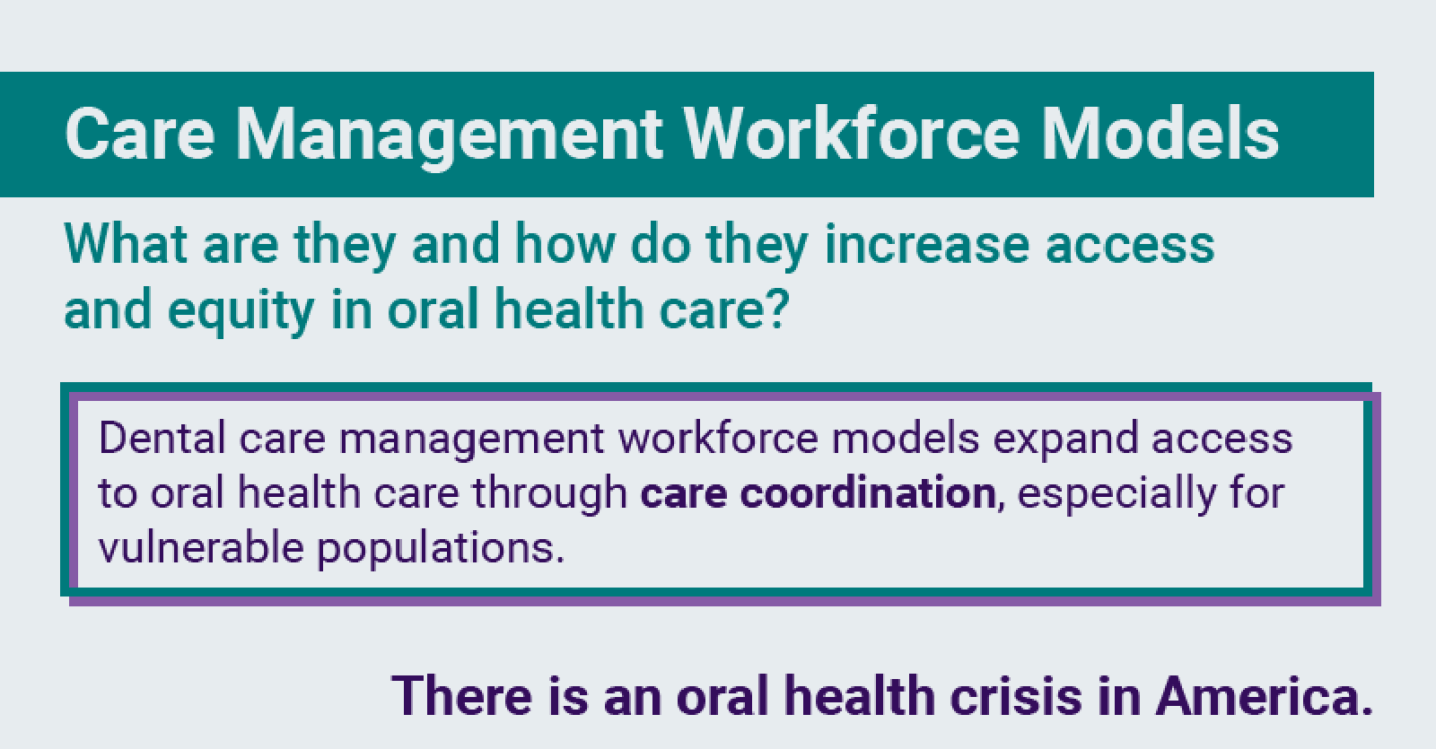 Care Management Workforce Models